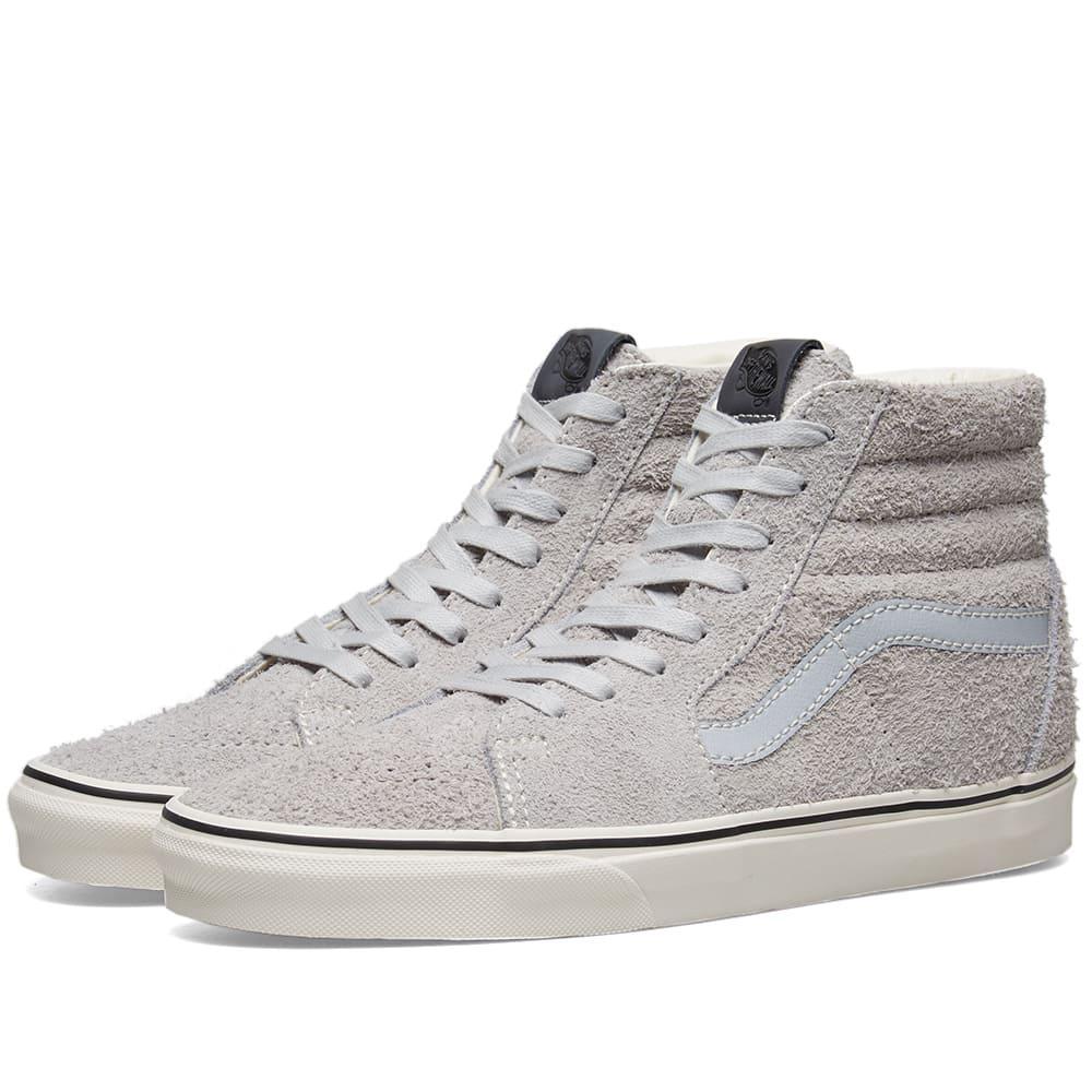 Vans Hairy Suede Sk8-hi in Grey (Gray
