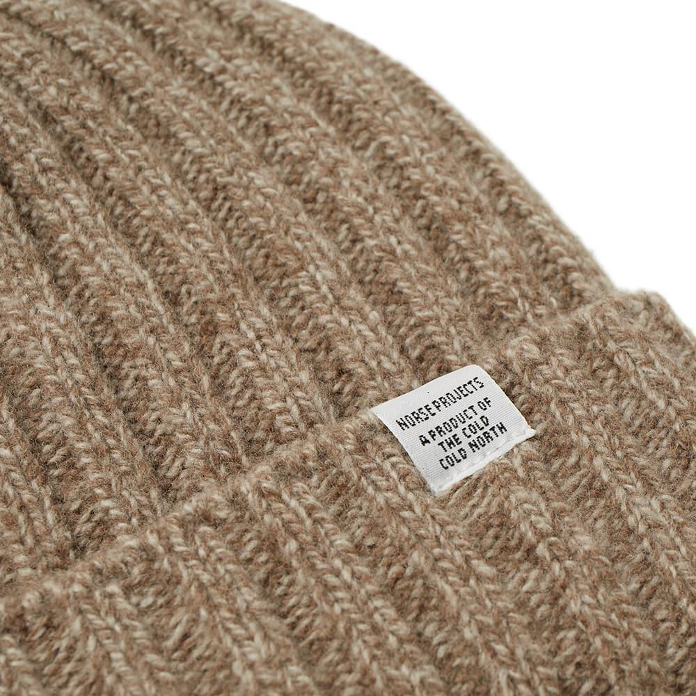 1e4d30fd8c8 Lyst - Norse Projects Wide Rib Beanie in Brown for Men