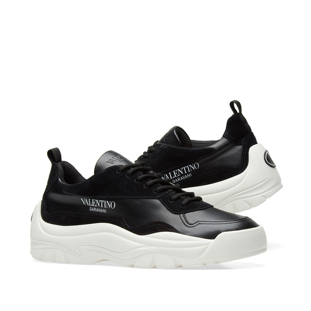 Valentino Leather Bansi Chunky Sneaker