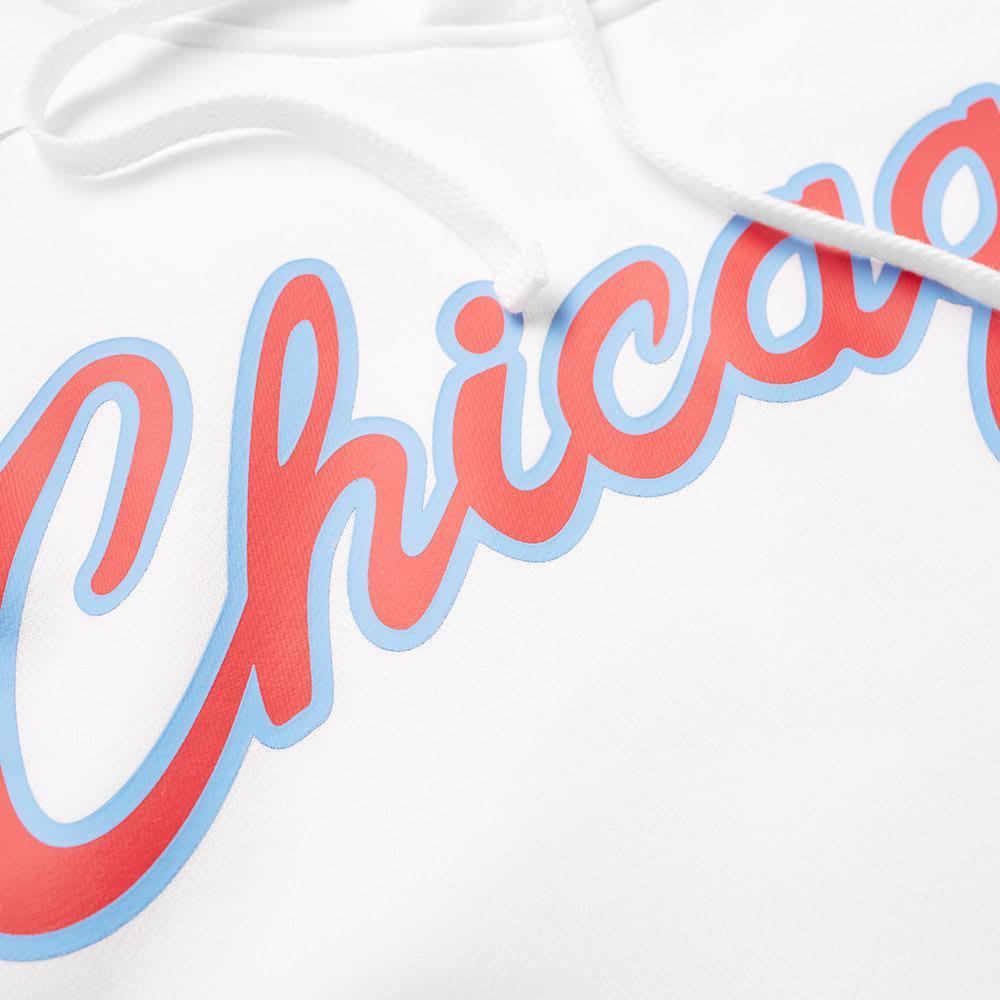 online store bf8bb 157be Men's White Chicago Bulls City Edition Hoody