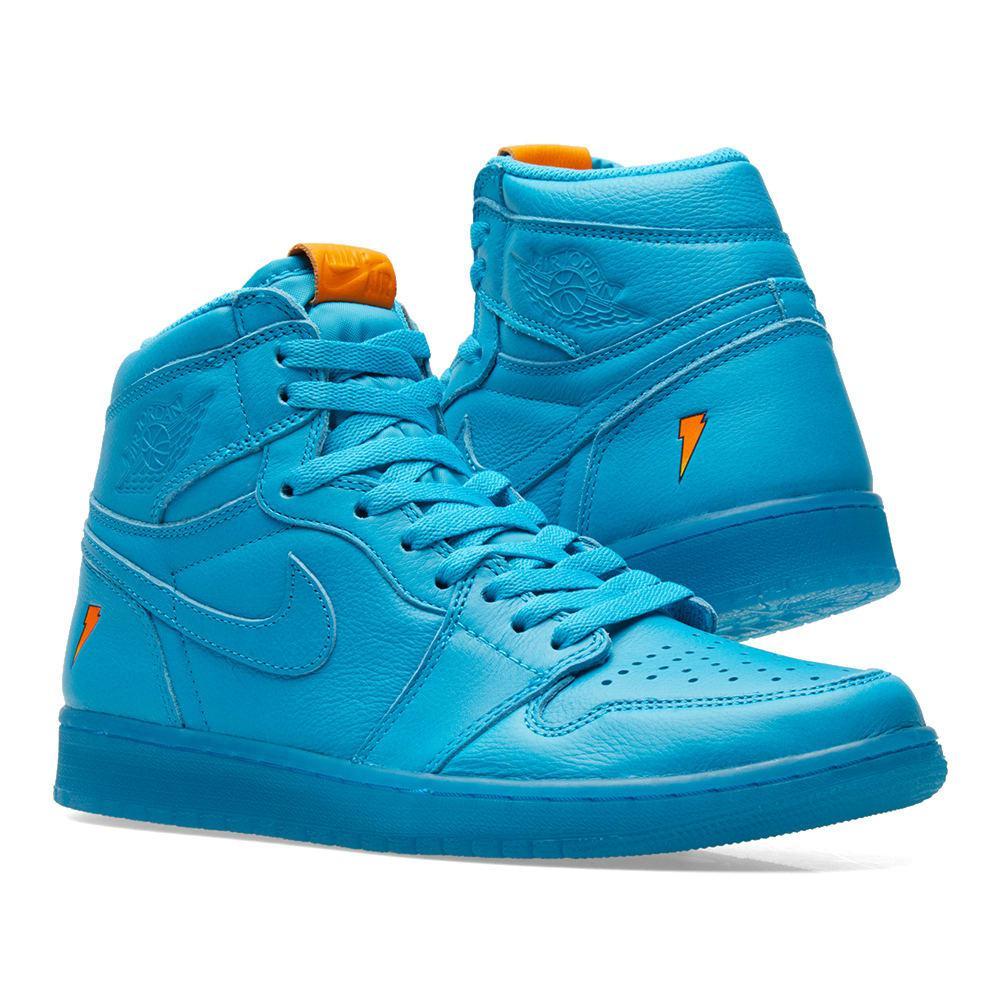 286b6aa3e70b Lyst - Nike Nike Air Jordan 1 Retro Og  gatorade  in Blue for Men