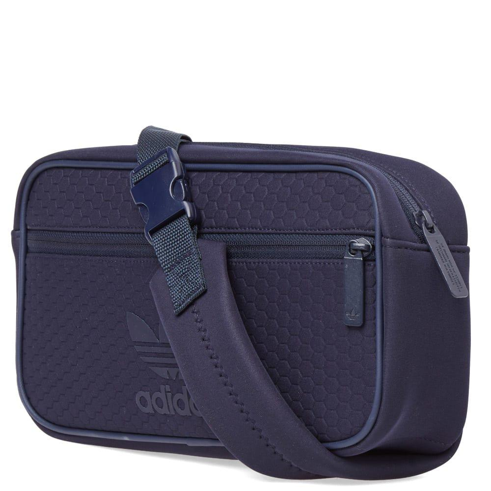 adidas Textured Messenger Bag in Blue for Men - Lyst 2896ee413f