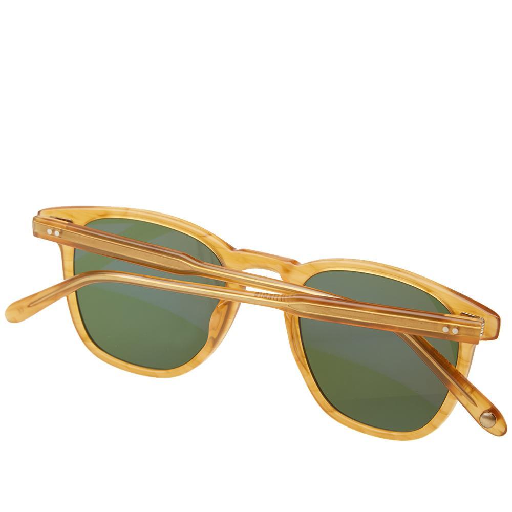 Garrett Leight Brooks Sunglasses in Brown for Men
