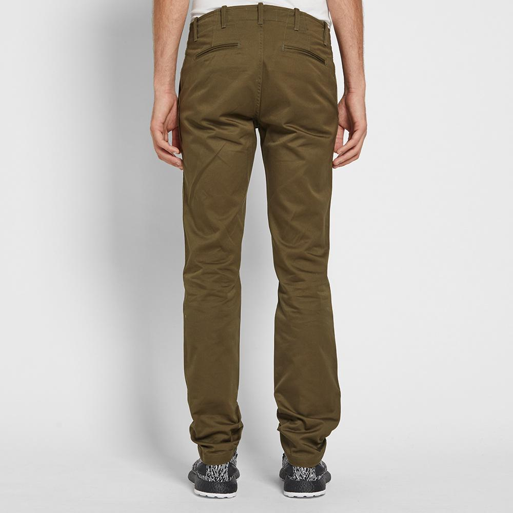 Wings + Horns Cotton Westpoint Chino in Green for Men