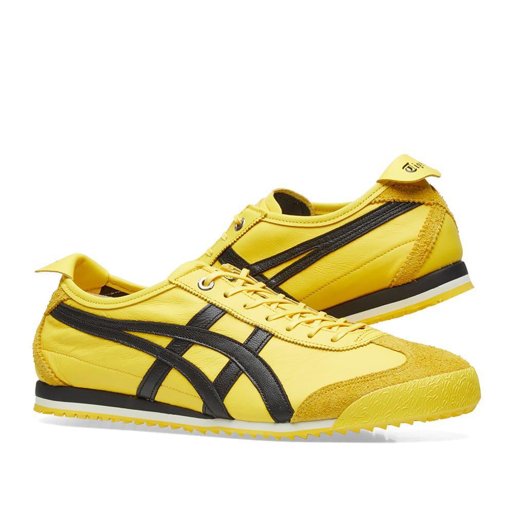 onitsuka tiger mexico 66 sd yellow black uptempo red
