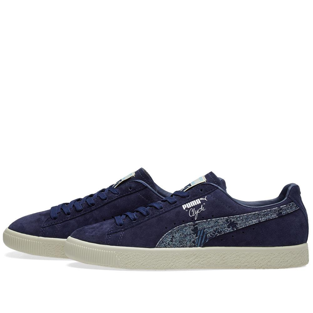 the latest 9034e 5e860 PUMA Suede Clyde 'marine Day' in Blue - Lyst