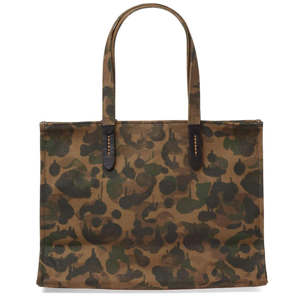 Coach Canvas Rexy Camo Tote Bag In Brown Lyst