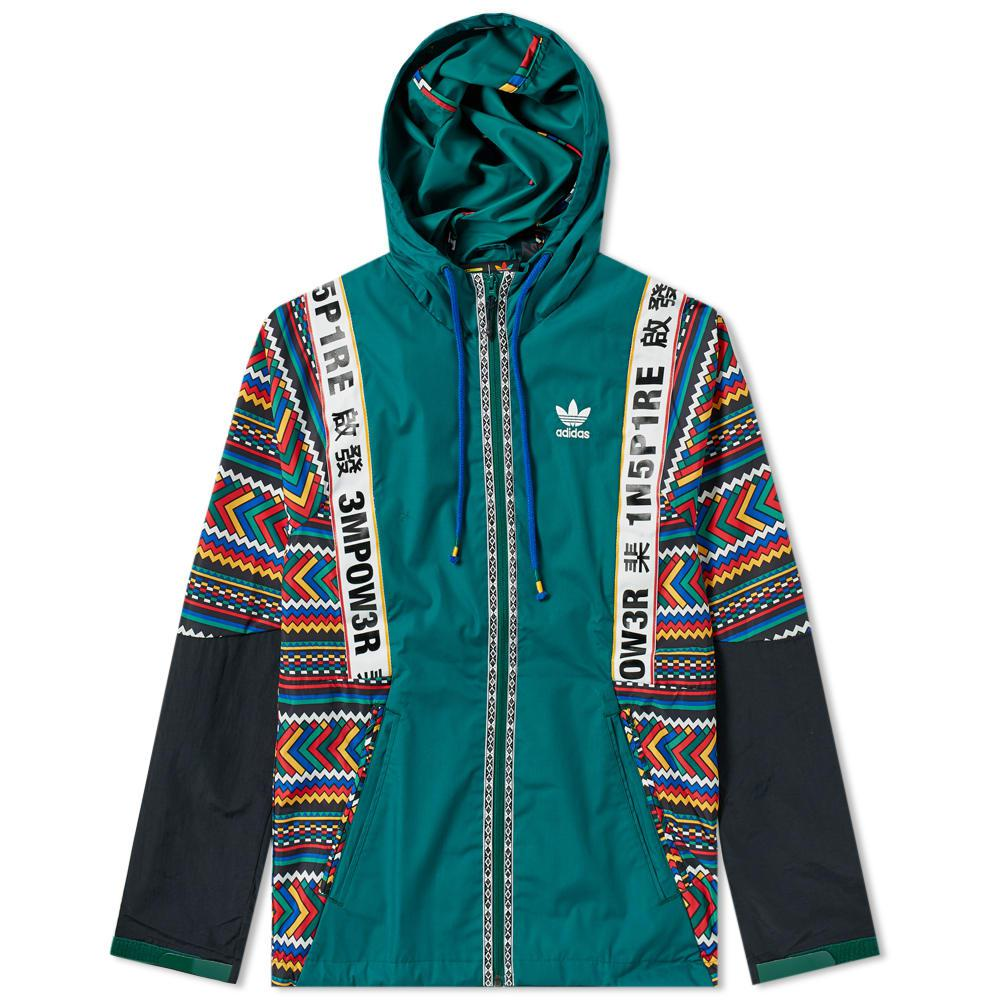 1b69e80c7694 Lyst - adidas By Pharrell Williams Solarhu Shell Jacket in Green for Men