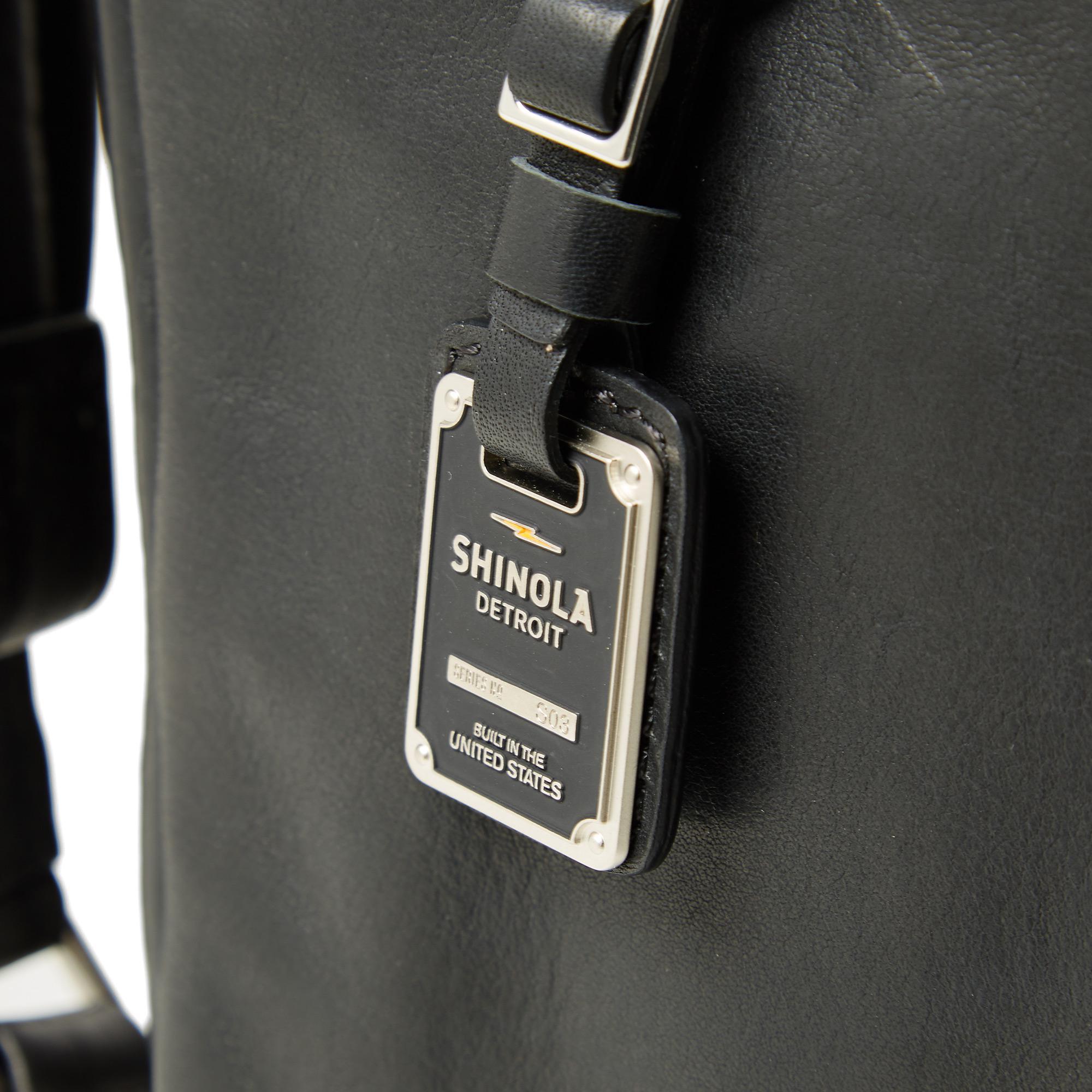 Shinola Men's Runwell Leather Backpack in Black for Men