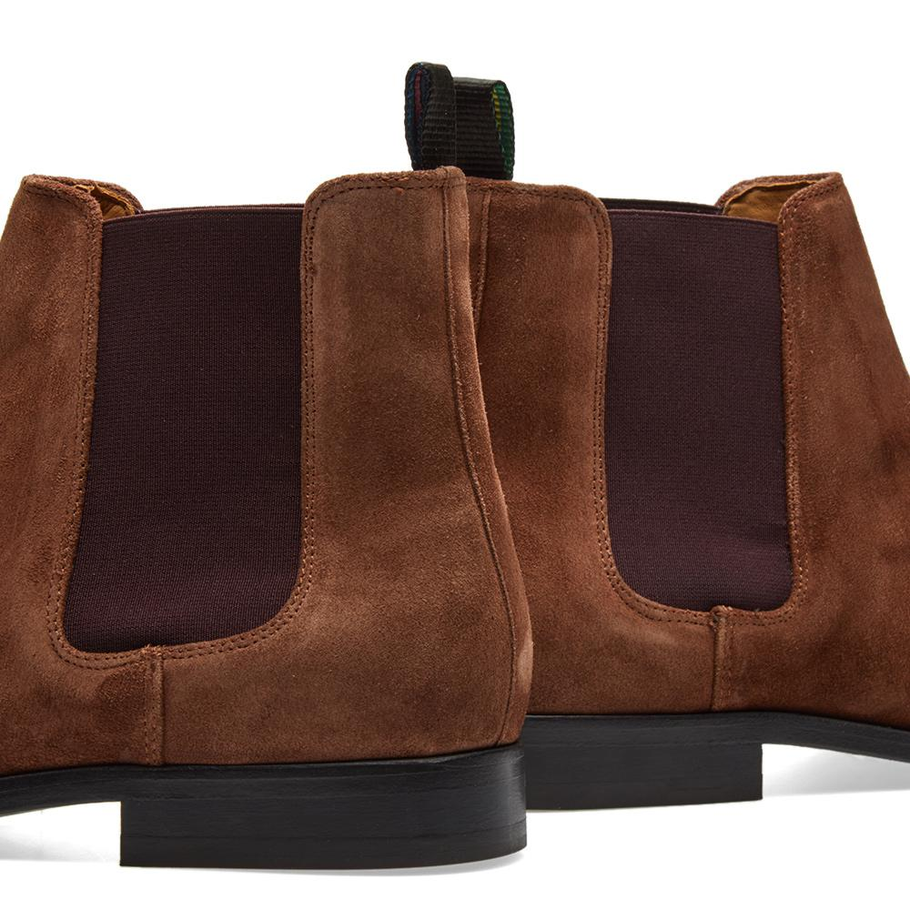 Paul Smith Suede Gerald Chelsea Boot in Brown