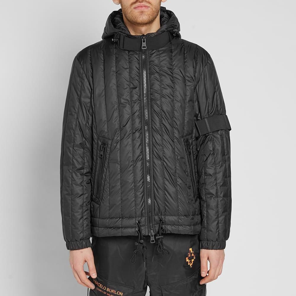 Moncler Synthetic X Craig Green Banach Padded Strap Jacket in Black for Men