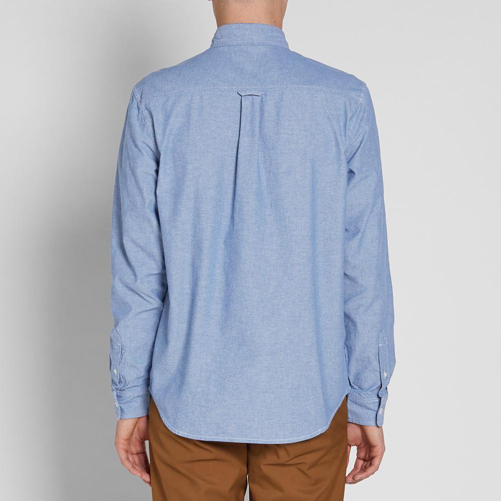fb49b7165bf Carhartt WIP Civil Chambray Shirt in Blue for Men - Lyst