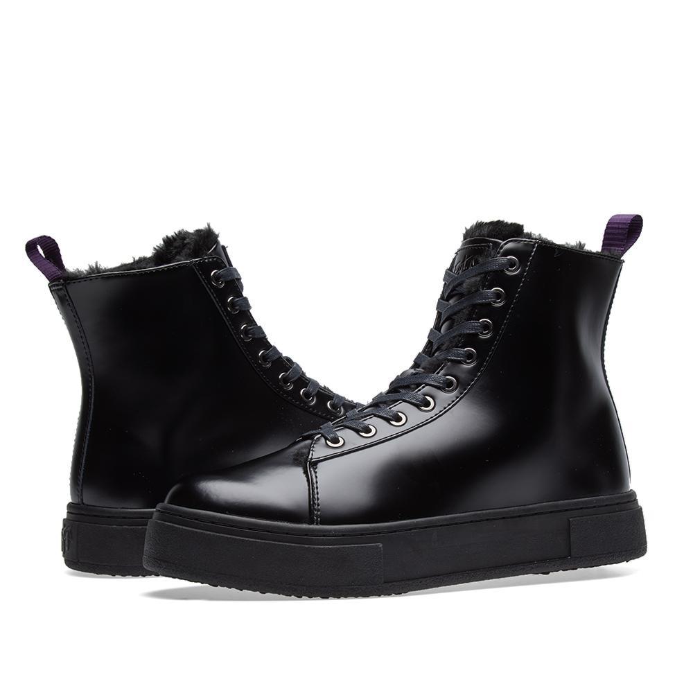 Eytys Kibo Leather Shoe in Black for Men
