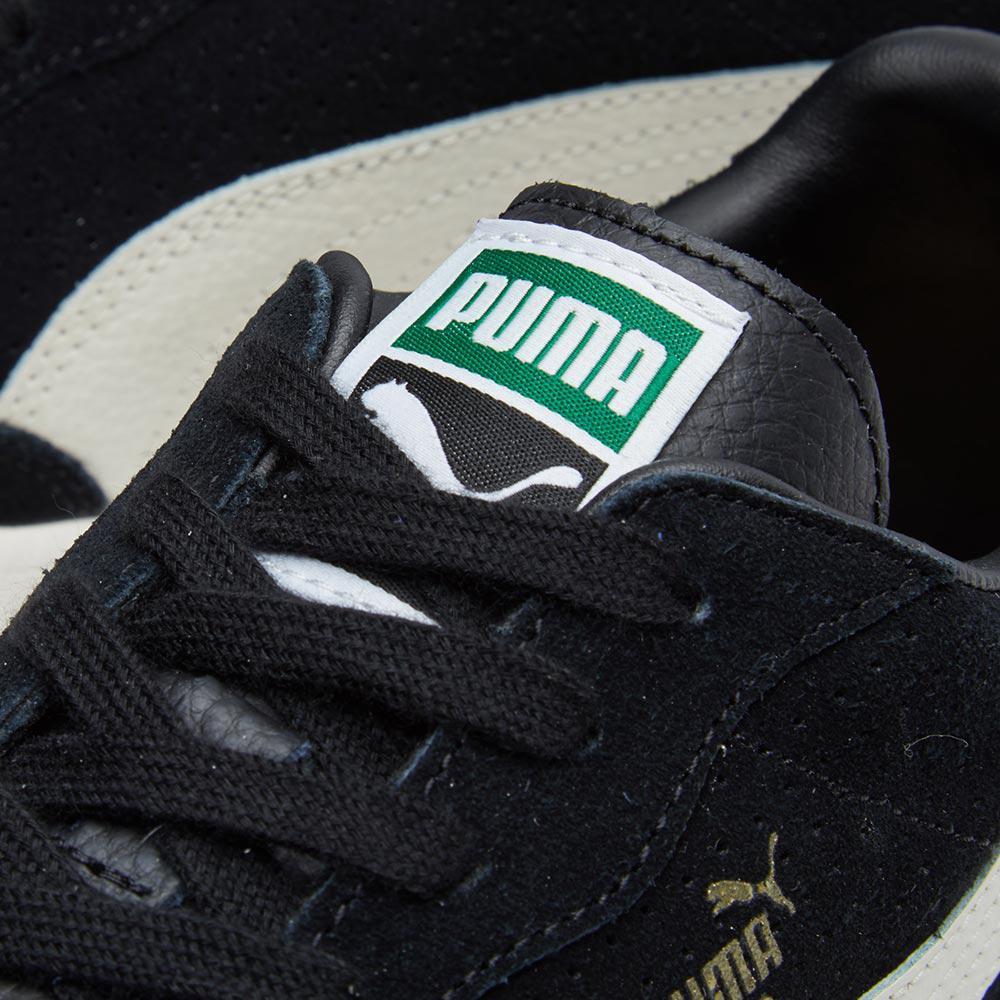 PUMA Liga Suede Perf in Black for Men