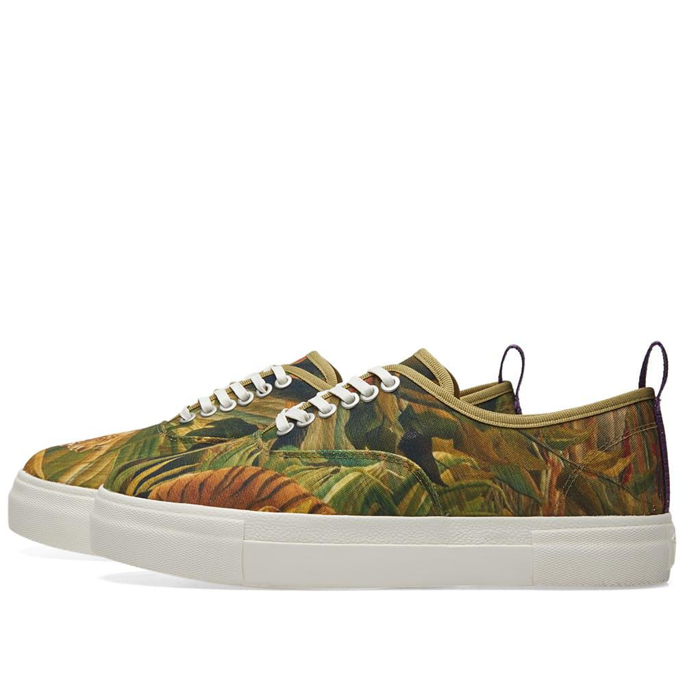 Eytys Canvas Mother Rousseau Sneaker in Green