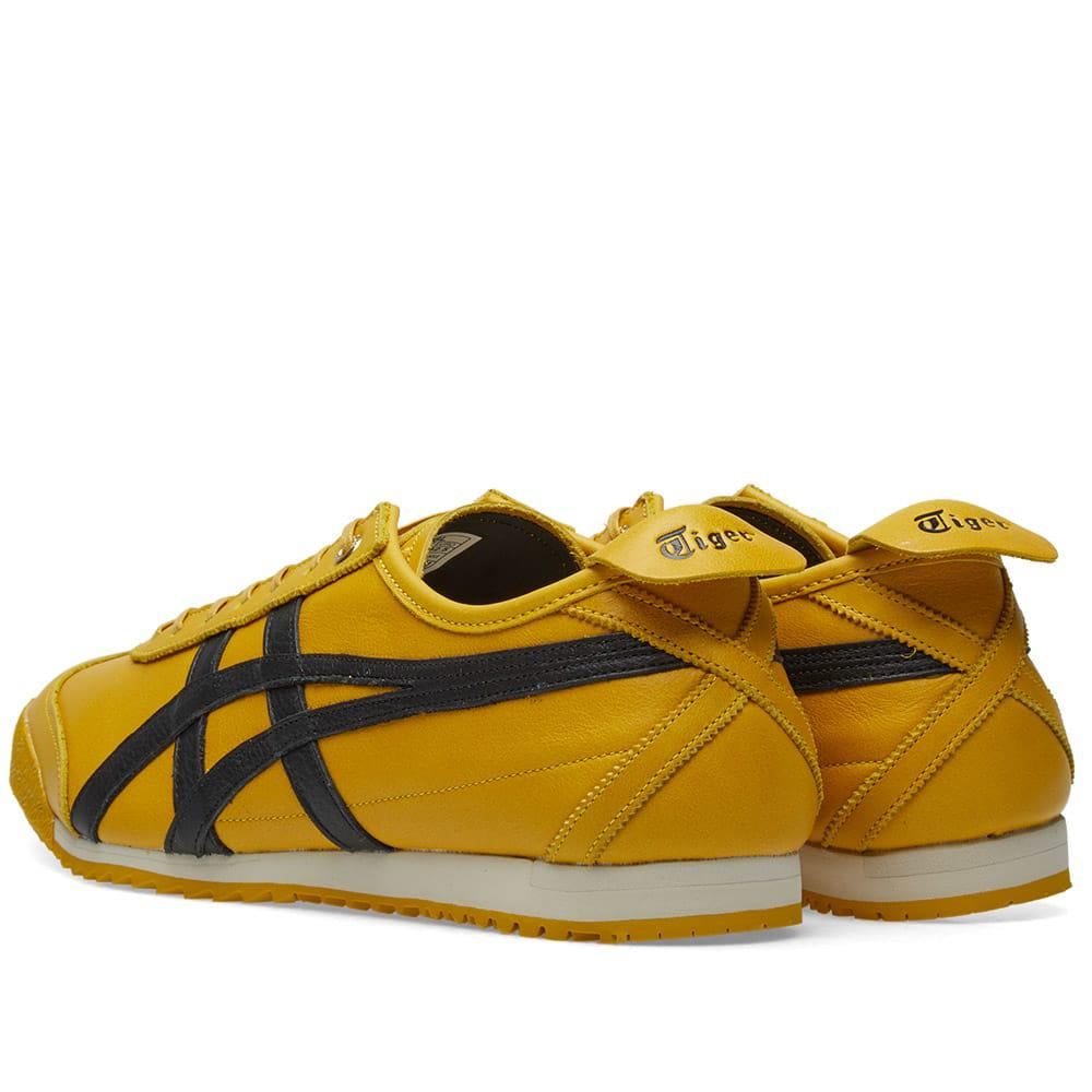 onitsuka tiger mexico 66 sd yellow black usa navy femme