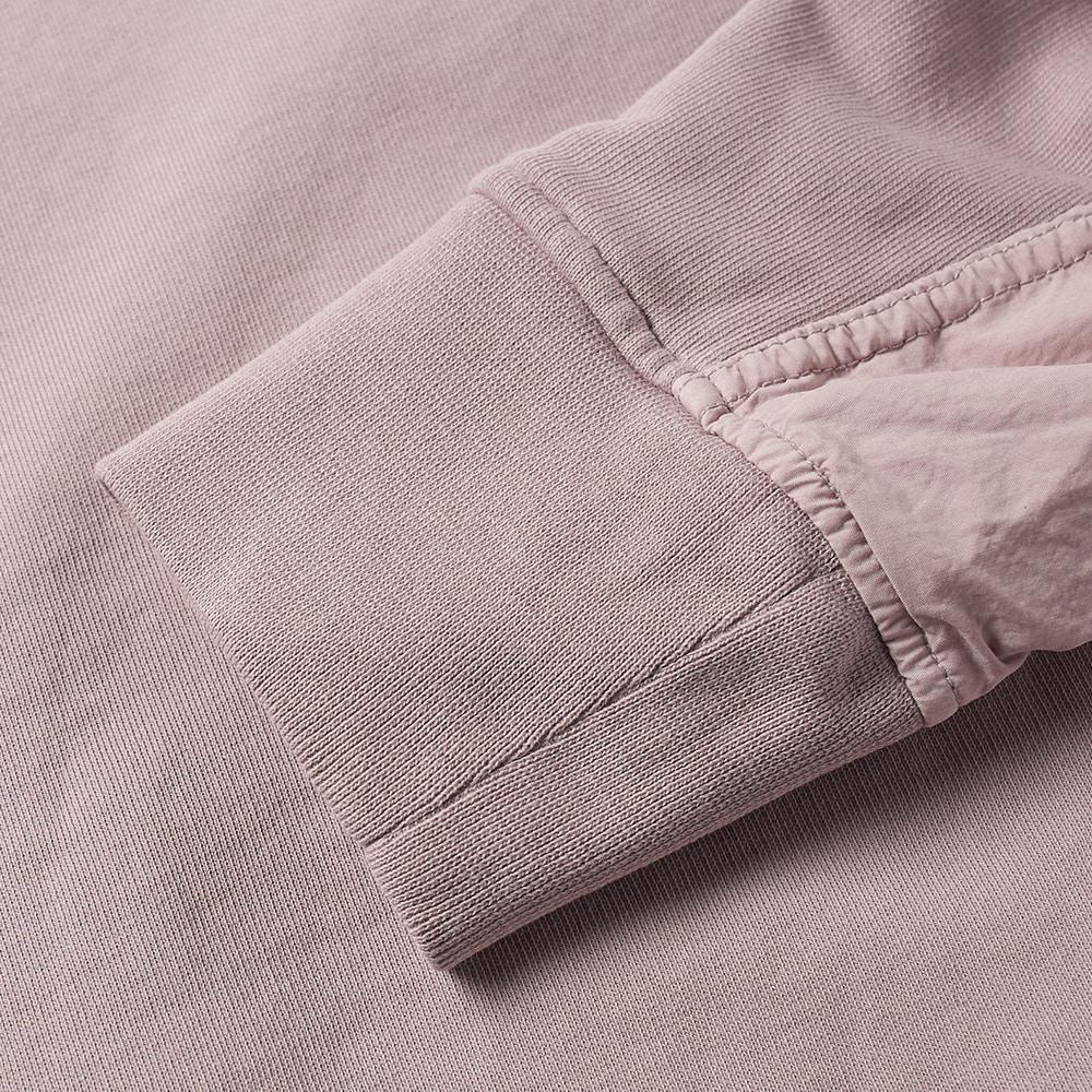 Tim Coppens Cotton Ma-1 Bomber Crew Sweat in Pink for Men
