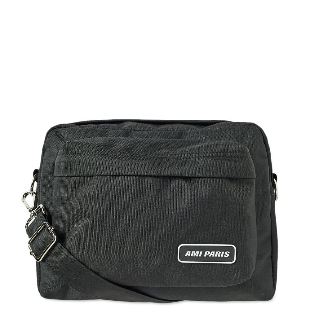 4bfd21db1387 AMI - Black Paris Messenger Bag for Men - Lyst. View fullscreen