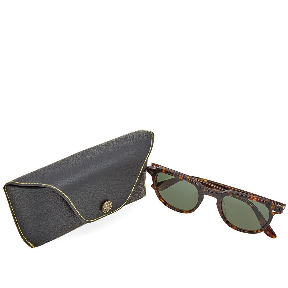 a3c64495a9a0 Moscot - Brown Billik 50 Sunglasses for Men - Lyst. View fullscreen