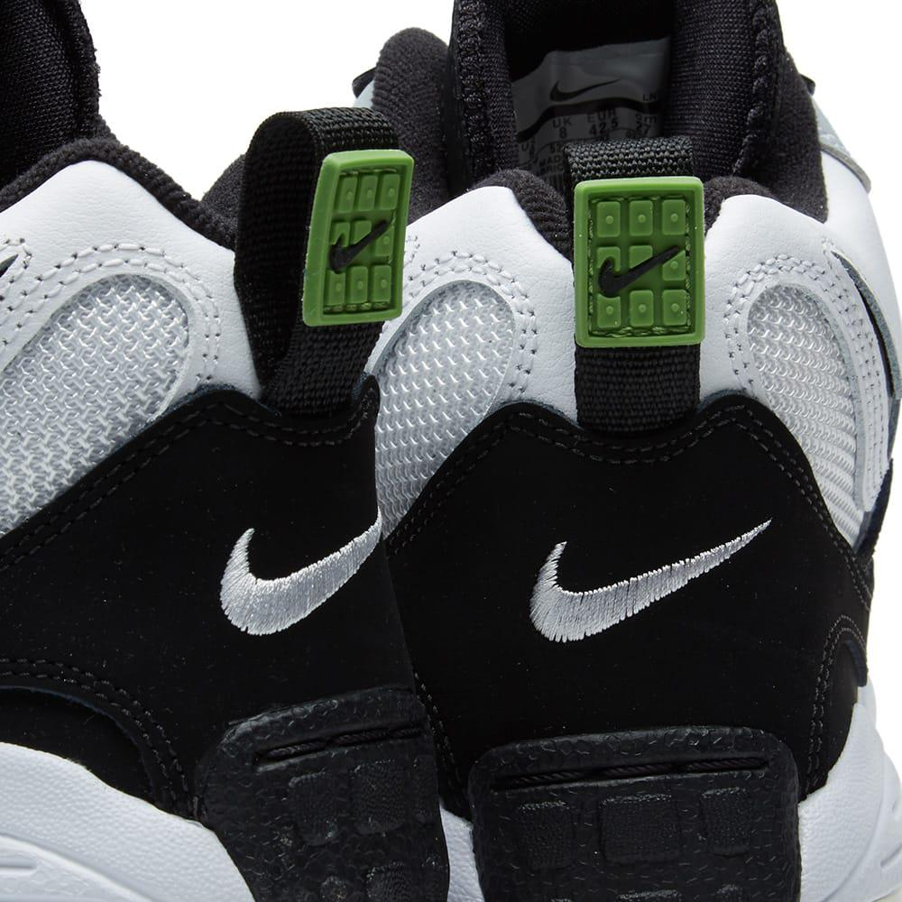 Nike Leather Air Max Speed Turf Sneakers in Black/White (Black) for Men