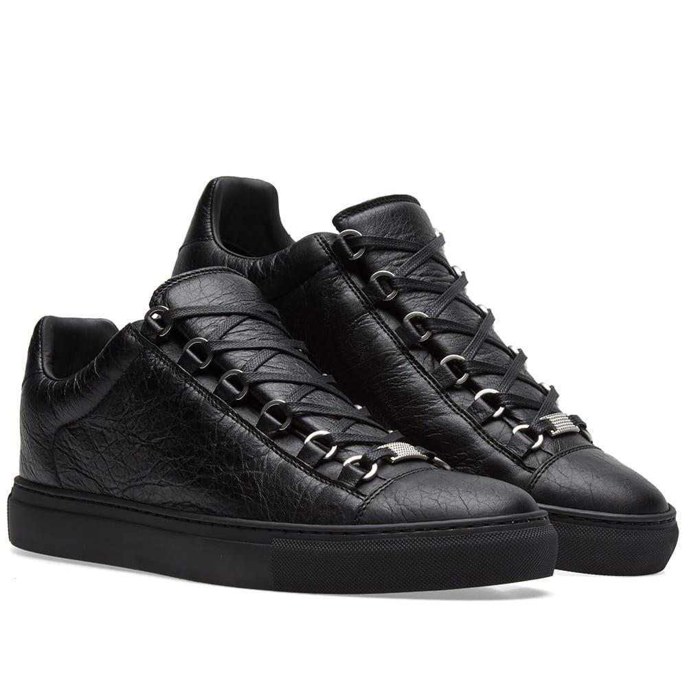 Balenciaga Leather Arena Low Classic in