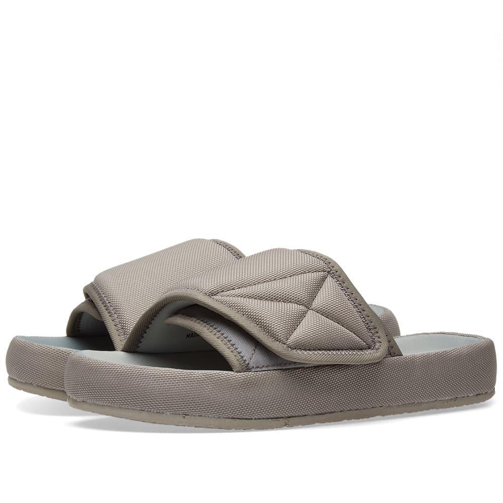 1bbd2c6a1216 Lyst - Yeezy Nylon Slide in Gray for Men