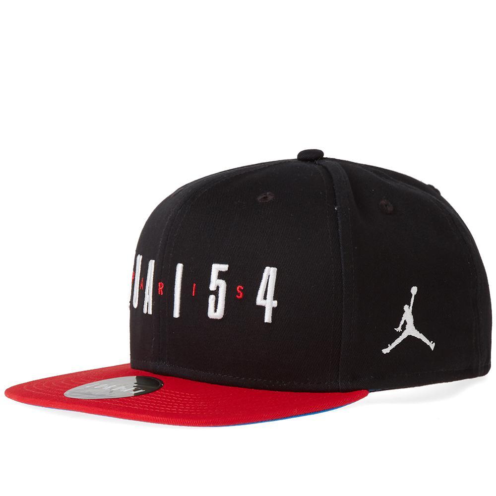 1b735136c10 Nike Nike Jordan Q54 Pro Snapback in Black for Men - Lyst