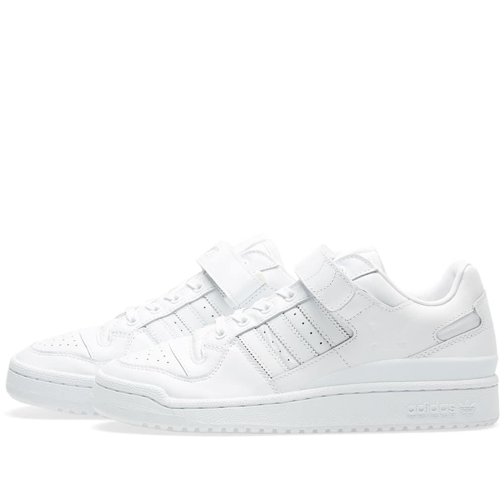 adidas Leather Forum Lo Refined in