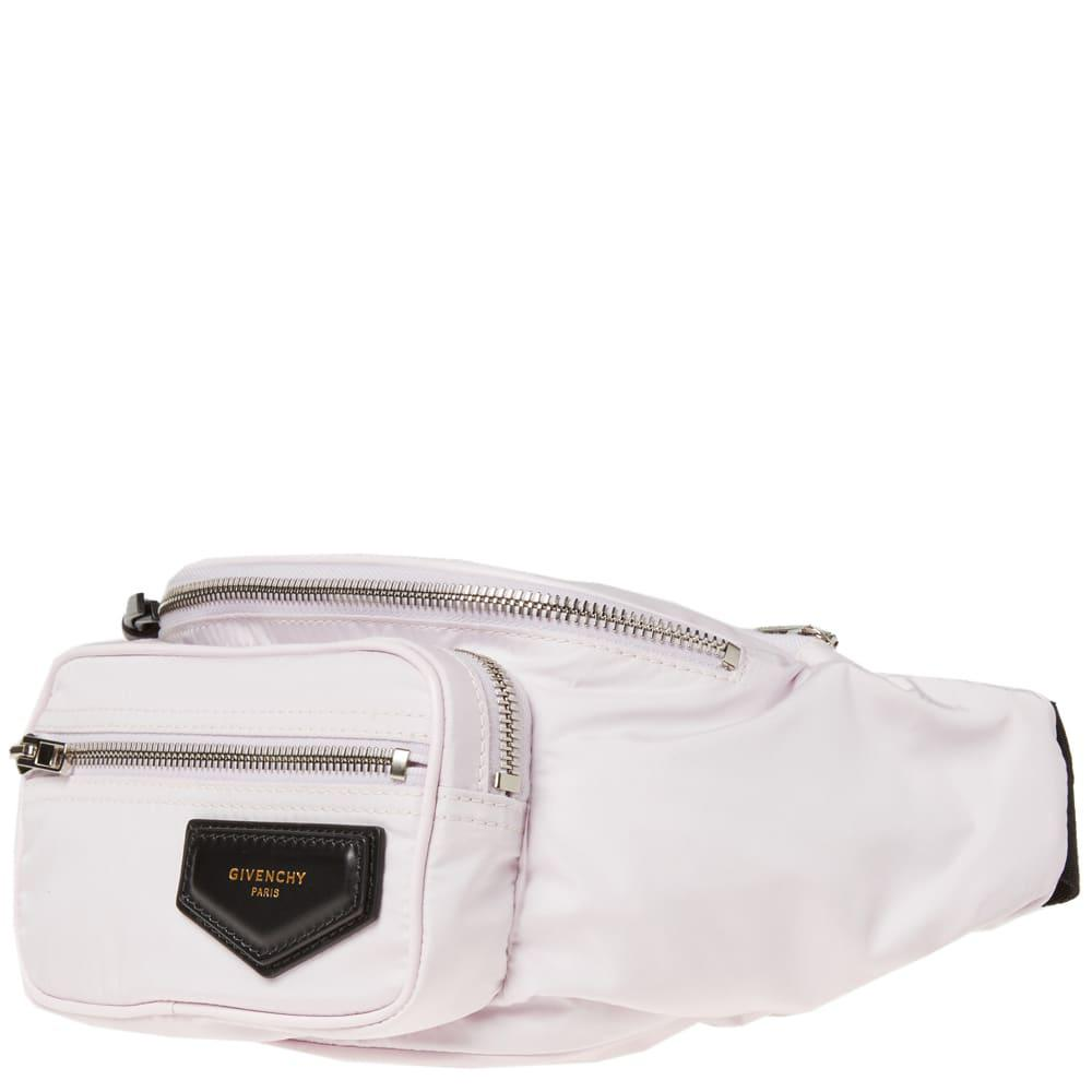 Givenchy Leather Crossbody Tech Bag in Pink for Men