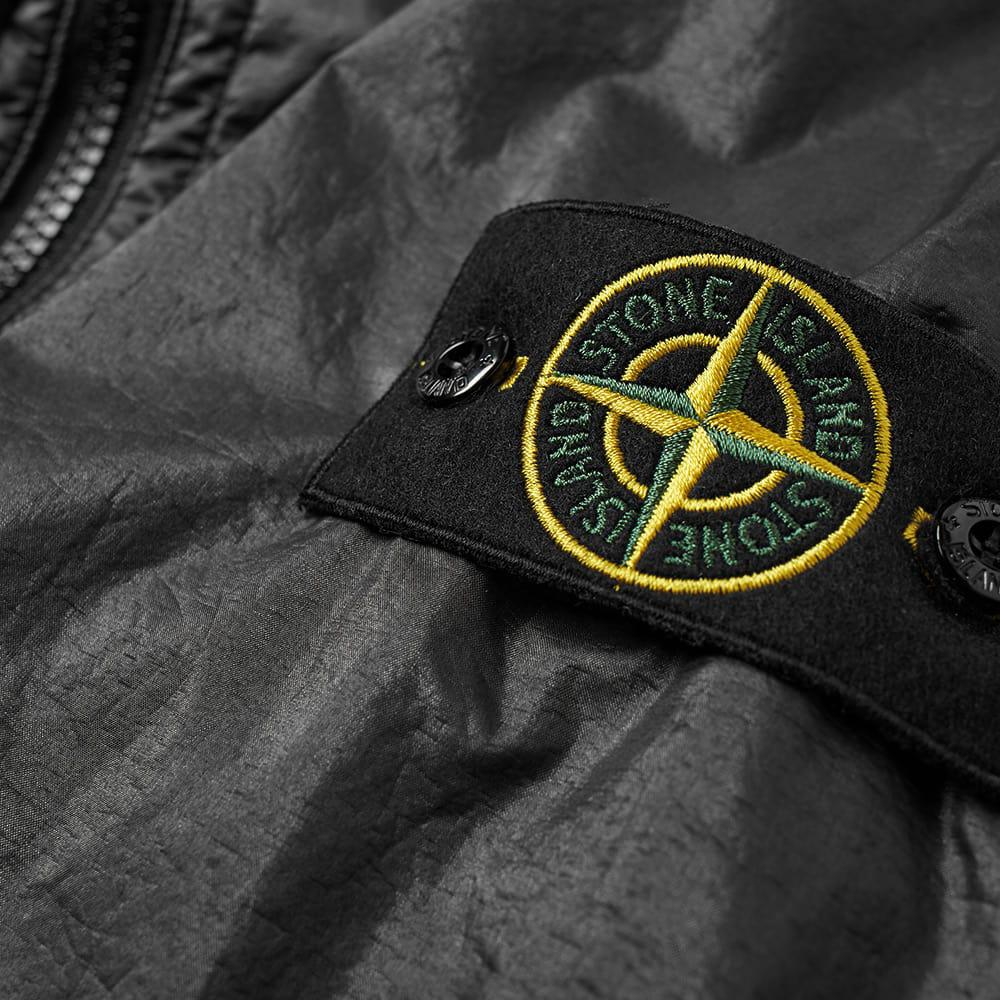 Stone Island Synthetic Lamy Flock Shell Jacket in Black for Men