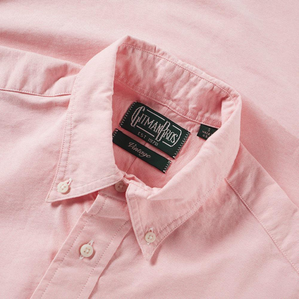 Gitman Brothers Vintage Cotton Oxford Shirt in Pink for Men