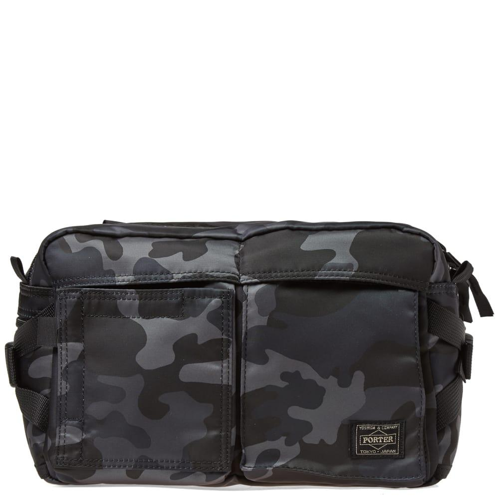868c65cc0e Head Porter Jungle Camo Waist Bag in Black for Men - Lyst