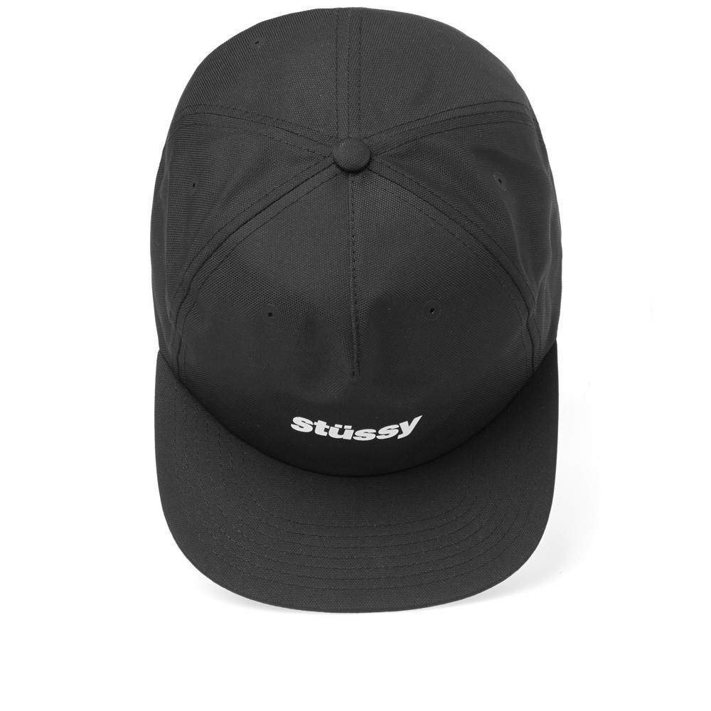 7dec6c4dc6b Lyst - Stussy Poly Doby Cap in Black for Men