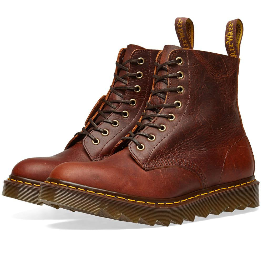 17fce6ff1f8 Dr. Martens Brown Dr. Martens Ripple Sole Boot - Made In England for men