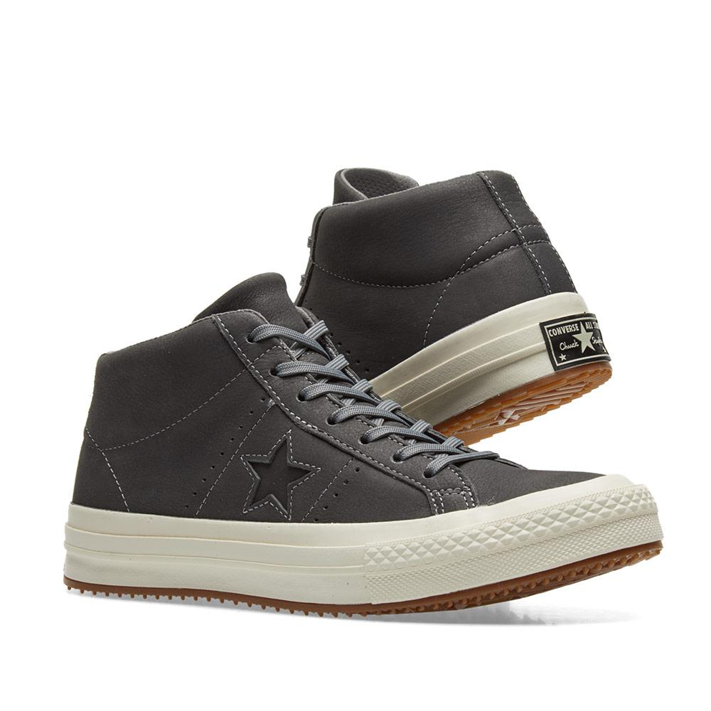 a1435f4fe22 Lyst - Converse One Star Counter Climate Mid in Gray for Men