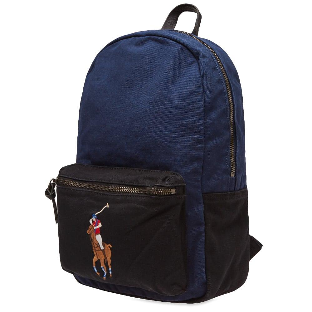 b4262c0039 Polo Ralph Lauren - Blue Polo Player Canvas Backpack for Men - Lyst. View  fullscreen