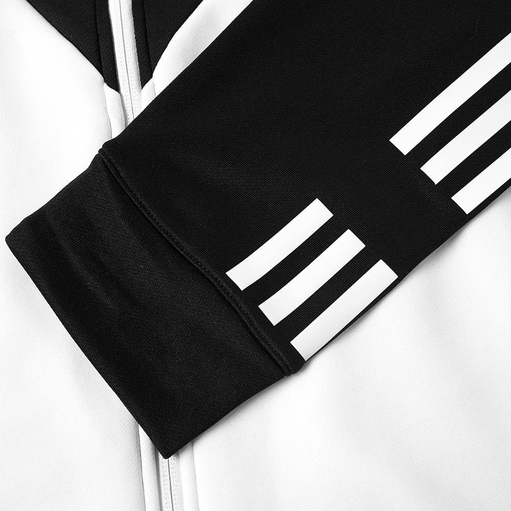 lyst adidas originals track top in black for men. Black Bedroom Furniture Sets. Home Design Ideas