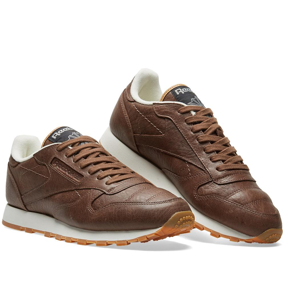 pretty nice f6ea4 53245 Reebok Classic Leather Boxing in Brown for Men - Lyst
