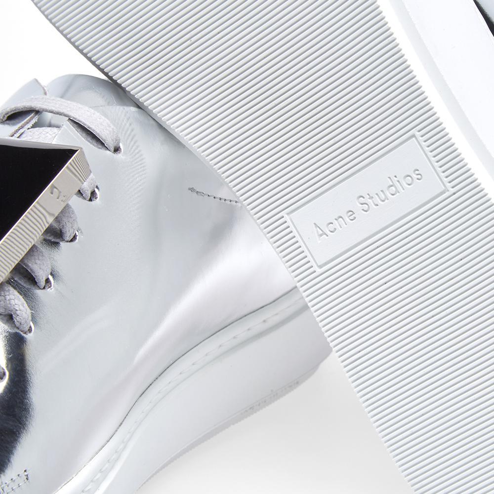 Acne Studios Leather Women's Adriana Metallic Sneaker