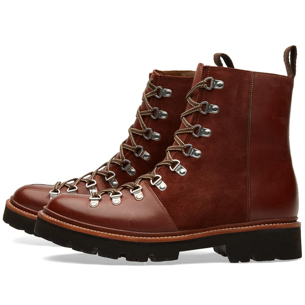 Grenson Leather Brady Boot In Brown Lyst