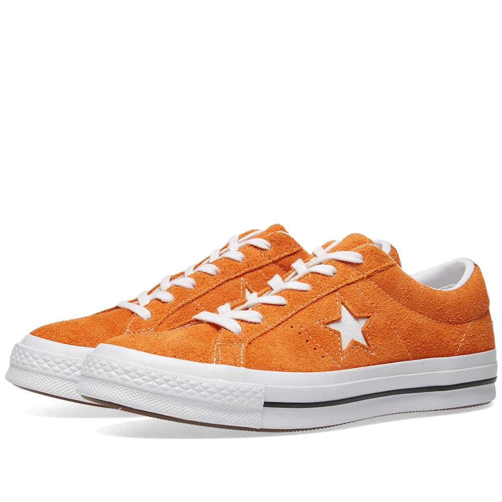 Converse One Star Mandarin Suede