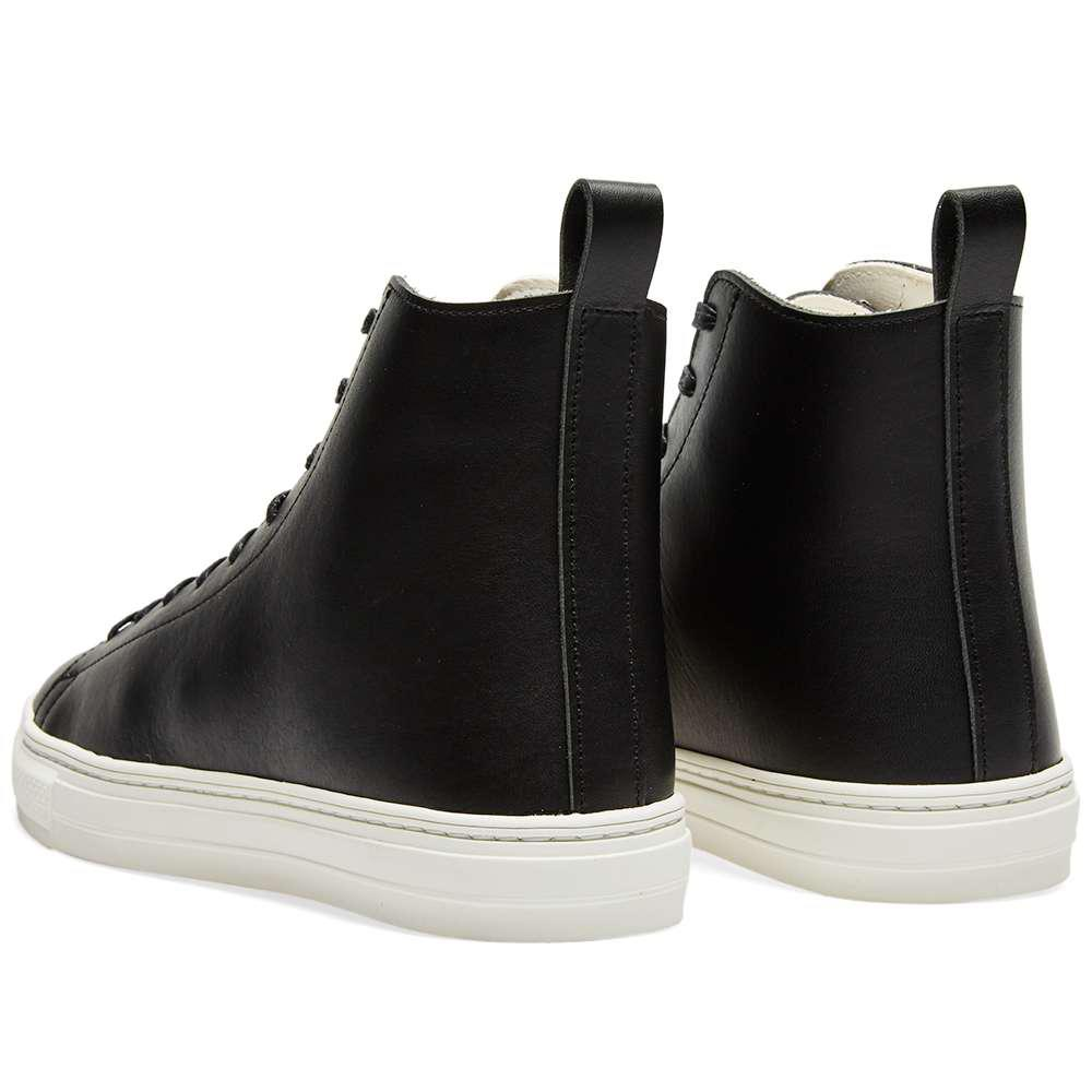 Buddy Leather Bull Terrier High Tonal in Black for Men