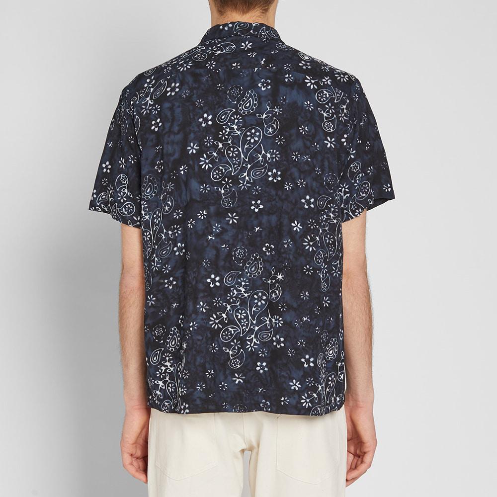 Stan Ray Bandana Vacation Shirt in Black for Men