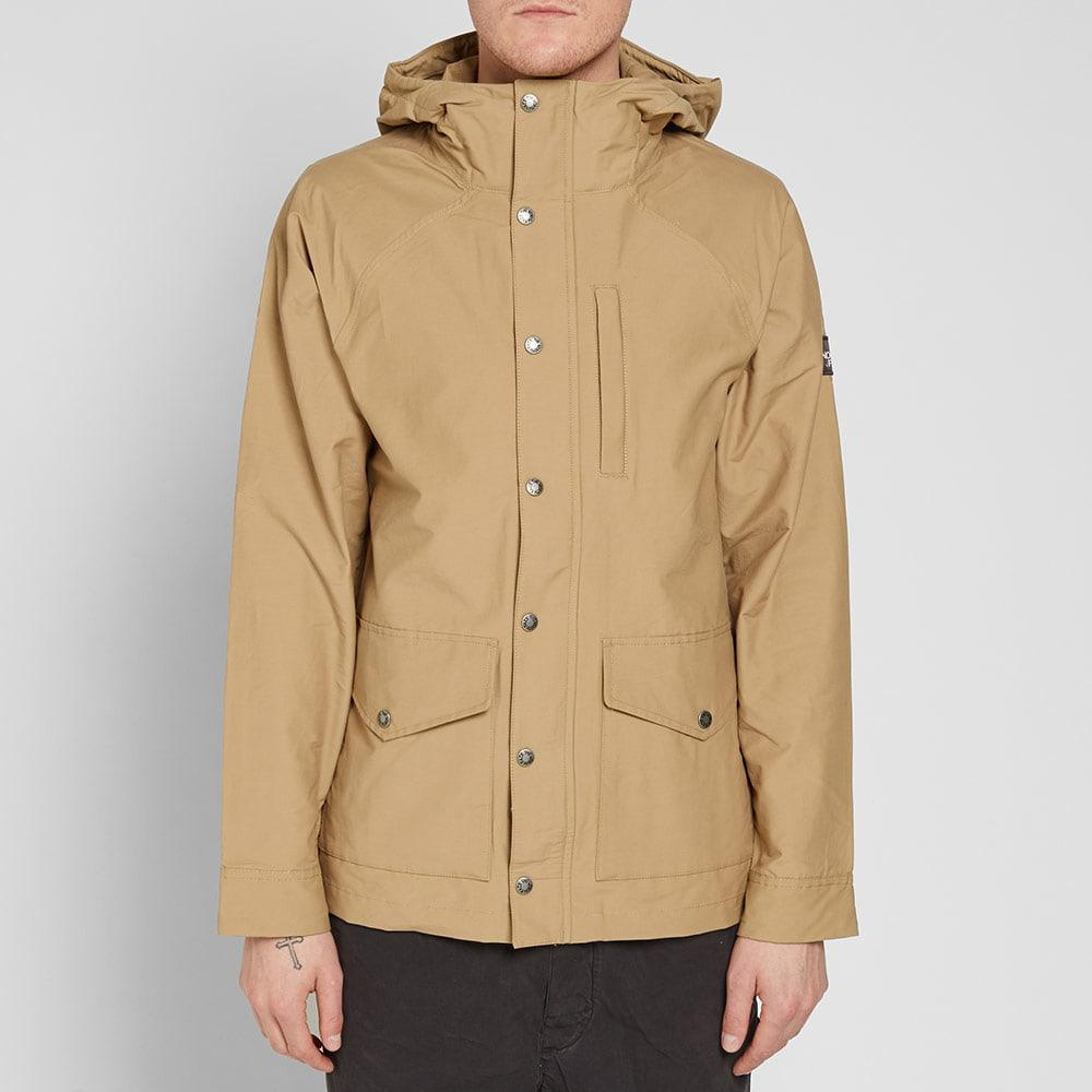 6061d440659 The North Face Brown Waxed Canvas Utility Jacket for men