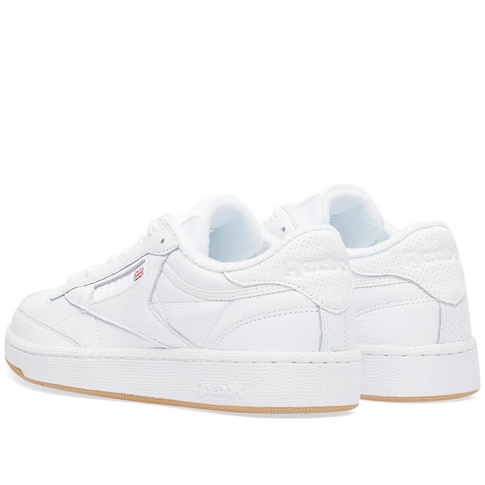 Reebok Leather Club C 85 Essential in White for Men