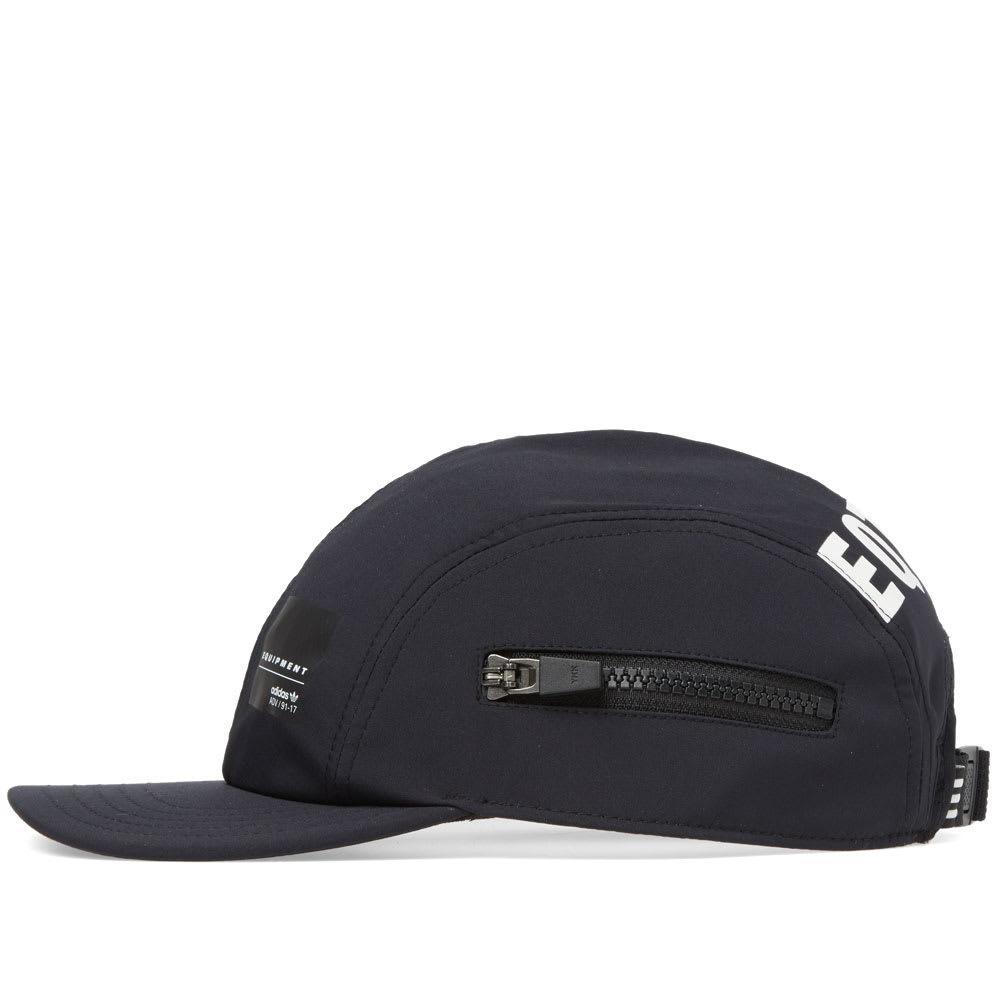 adidas Eqt Zip Cap in Black for Men - Lyst a2dfc4812da