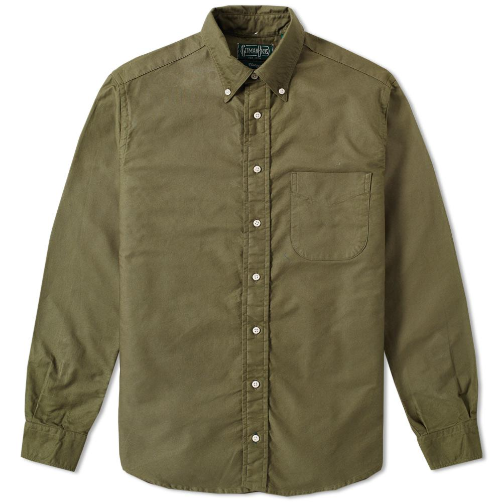 Lyst Gitman Brothers Vintage Overdyed Oxford Shirt In