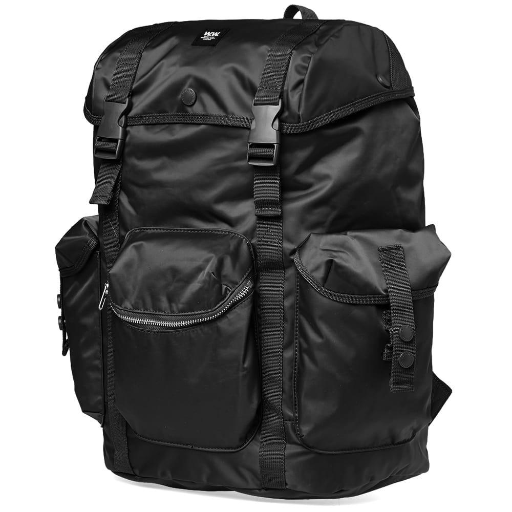WOOD WOOD Synthetic Mills Backpack in Black for Men