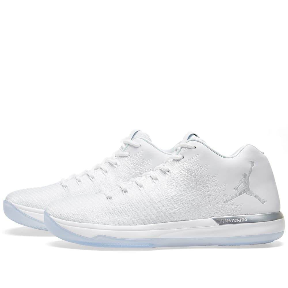 086f5dad6fb77b Lyst - Nike Air Jordan 31 Low  pure Money  in White