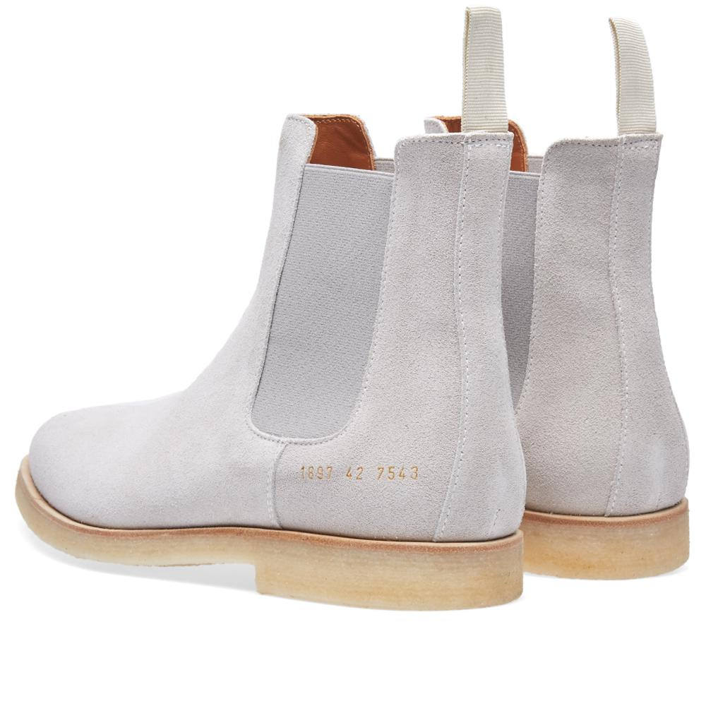 Common Projects Chelsea Boot Suede in Grey (Grey)